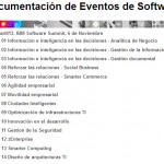 Documentación del #Start013, IBM Software Summit, 6 de Noviembre